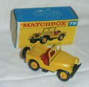 Matchbox 72 Jeep