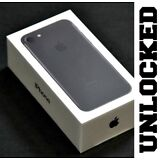 Apple iPhone 7 128GB - Black (UNLOCKED) T-Mobile Verizon AT&T Cricket *NEW* (W)