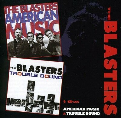 The Blasters - American Music / Trouble Bound [New CD] UK - (Edge Music)