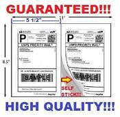 Self Adhesive Shipping Labels 1000