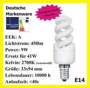Energiesparlampe GU10 9W