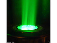 PHILIPS COLOR KINETICES ANOLIS ARCSOURCE INGROUND 12 GREEN BROADCAST LED LIGHT.*