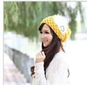 Ladies Yellow Hat