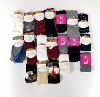Wholesale Lot of 48 Pieces -Zubii Girls Kids Boutique Fashion Tights Asst. Sizes](Kids Fashion Boutique)