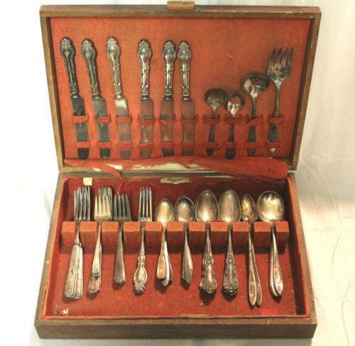 Community Plate Silverware Set Ebay