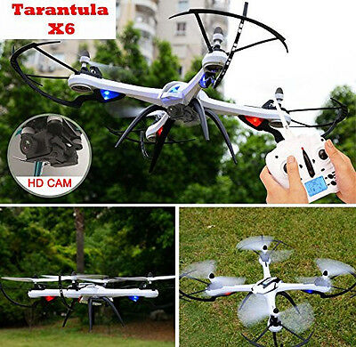 Drone Tarantula X6 Quad Copter with HD Camera 720p 6 Axis Gyroscope 2.4ghz RC