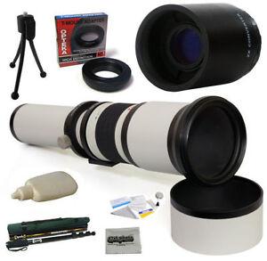 Téléobjectif 650-2600mm HD pour Canon, Nikon