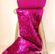Pink Sequin Fabric