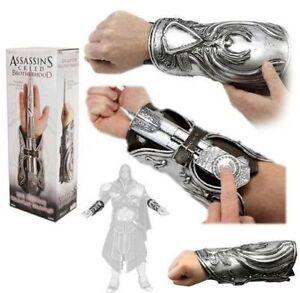 Assassins-Creed-Hidden-Blade-Brotherhood-Ezio-Auditore-Gauntlet-Cosplay-replica