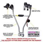 2 Bike Capacity Hitch Mount Bicycle Racks