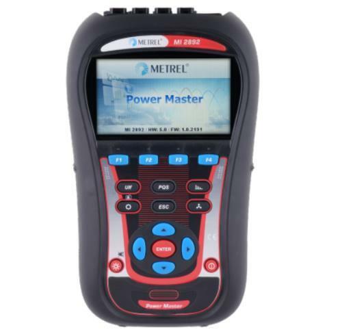 Metrel MI 2892 Power Master Power Quality Analyzer PQA Standard Set