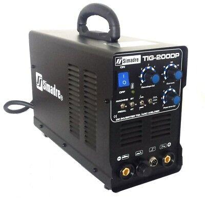 Welding Machine Simadre Powerful Tig200dp 200a Tig Mma Pulse Dc Inverter 110220