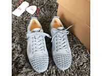 Authentic Christian louboutin junior spikes,uk 7 but will also fit a 8,new