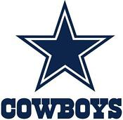 Dallas Cowboys Window Decal