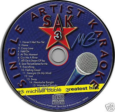 Michael Buble Karaoke CDG Brand NEW 16 Songs HAVEN'T MET YOU YET Home CRAZY LOVE Crazy Love Karaoke