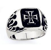Mens Celtic Cross Ring