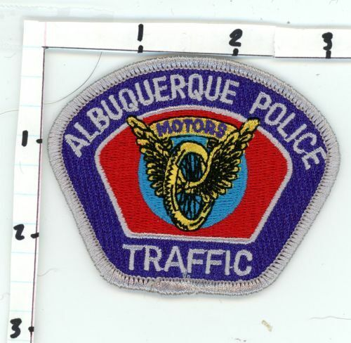 ALBUQUERQUE NEW MEXICO NM TRAFFIC NICE NEW COLORFUL PATCH SHERIFF CAP SIZE