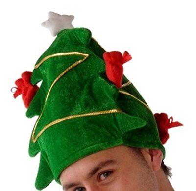 Neuheit Weihnachtsbaum Hut Weihnachten Büro Party Festlich Maskenkostüm Zubehör ()