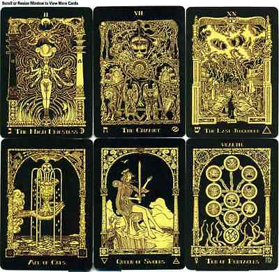 Azathoth Tarot Deck Cards Nemo's Locker Self Published Limited Fourth Edition
