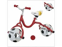 iScoot football Balance Bike brand new & boxed £30 each