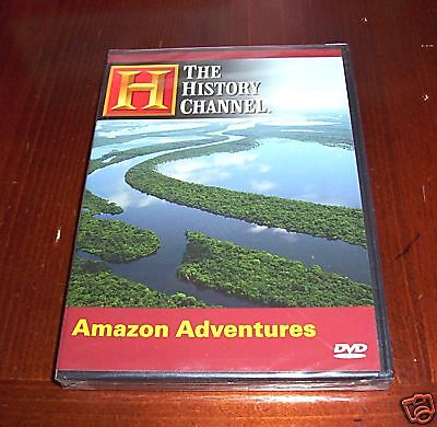 Amazon Adventures Explorers Exploration South America History Channel Dvd New