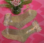 Handgestrickte Socken 40