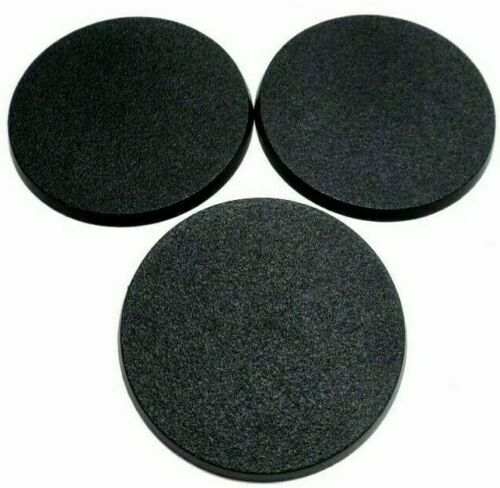 Lot of 3 90mm Round Bases For GW Warhammer 40k & AoS Games Storm Speeder