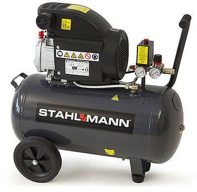 STAHLMANN Druckluft Kompressor 50 Liter 50l 50-Liter 50L