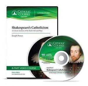 Shakespeare's Catholicism (Audio CD) Critical Analysis  by Pearce Josep CD-AUDIO