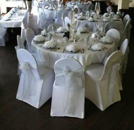 CHAIR COVER & SASH HIRE £1.50 SLOUGH BURNHAM BRACKNELL READING STAINES HAYES HOUNSLOW WEST LONDON