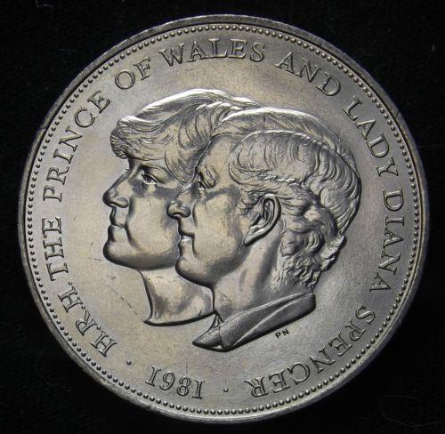 royal wedding coin charles diana