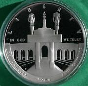 1984 Olympic Silver Coin