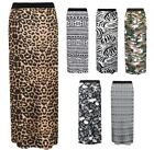 Aztec Viscose Maxi Skirts for Women