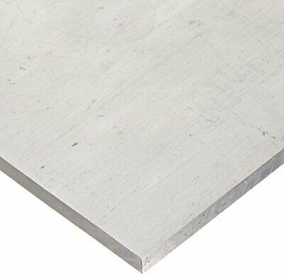 RMP 6061-T651 Aluminum Sheet, 12 Inch x 12 Inch x 1/2 Inch Thickness