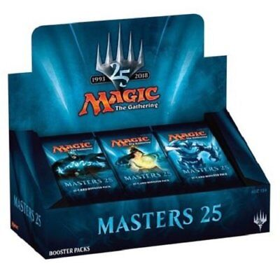 MTG Masters 25 Sealed Booster Box PREORDER Magic the Gathering Shipping March 16