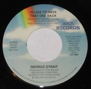 George Strait Record