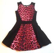 Girls Leopard Print Dress
