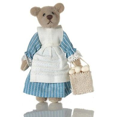 "World of Miniature Bears 3"" Cashmere Bear Lizzie #5048 Collectible Bear"