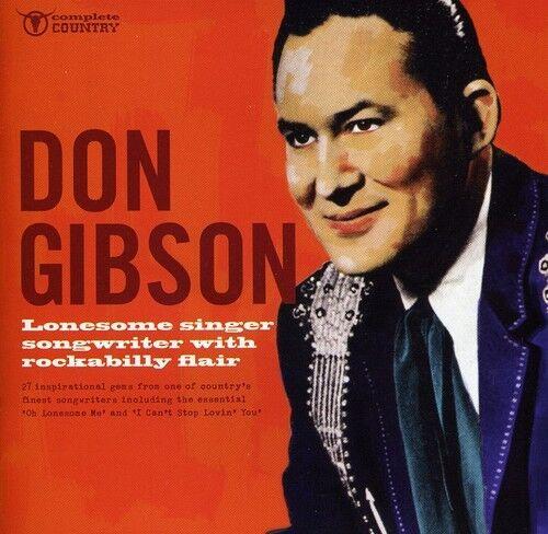 Don Gibson - Lonesome Singer Songwriter [New CD]
