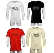 Mens Armani Short Sleeve Shirt