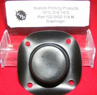 100-0430-114 Fluid Diaphragm For Use With Bitjet Printer