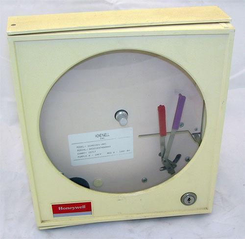 4 20ma Digital Chart Recorder : Honeywell chart recorder ebay