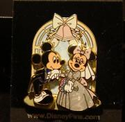 Disney Wedding Pin