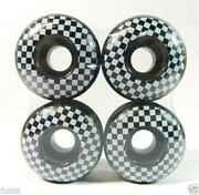 Checkered Skateboard Wheels
