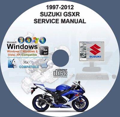Suzuki GSXR 600 1997-2012 Factory Workshop Service Repair Manual