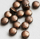Copper Antique Round Spacer Beads & Stoppers