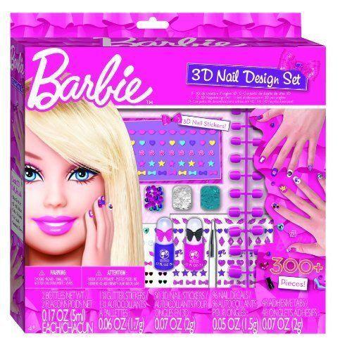 Barbie 3D Nail Art Design Set
