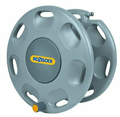 New Hozelock 2390D0000 60m Wall Mounted Reel Without Hose Assortment Green Gray