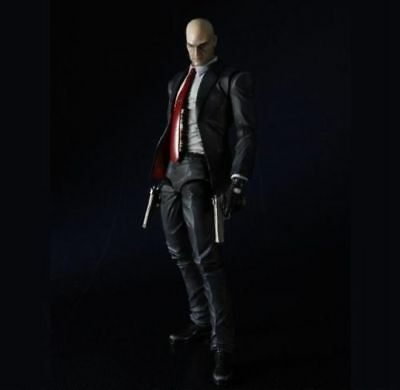 Play Arts Kai Hitman Absolution: Agent 47 PVC Action Figure New In Box
