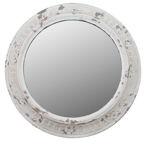 Round White Mirror Ebay